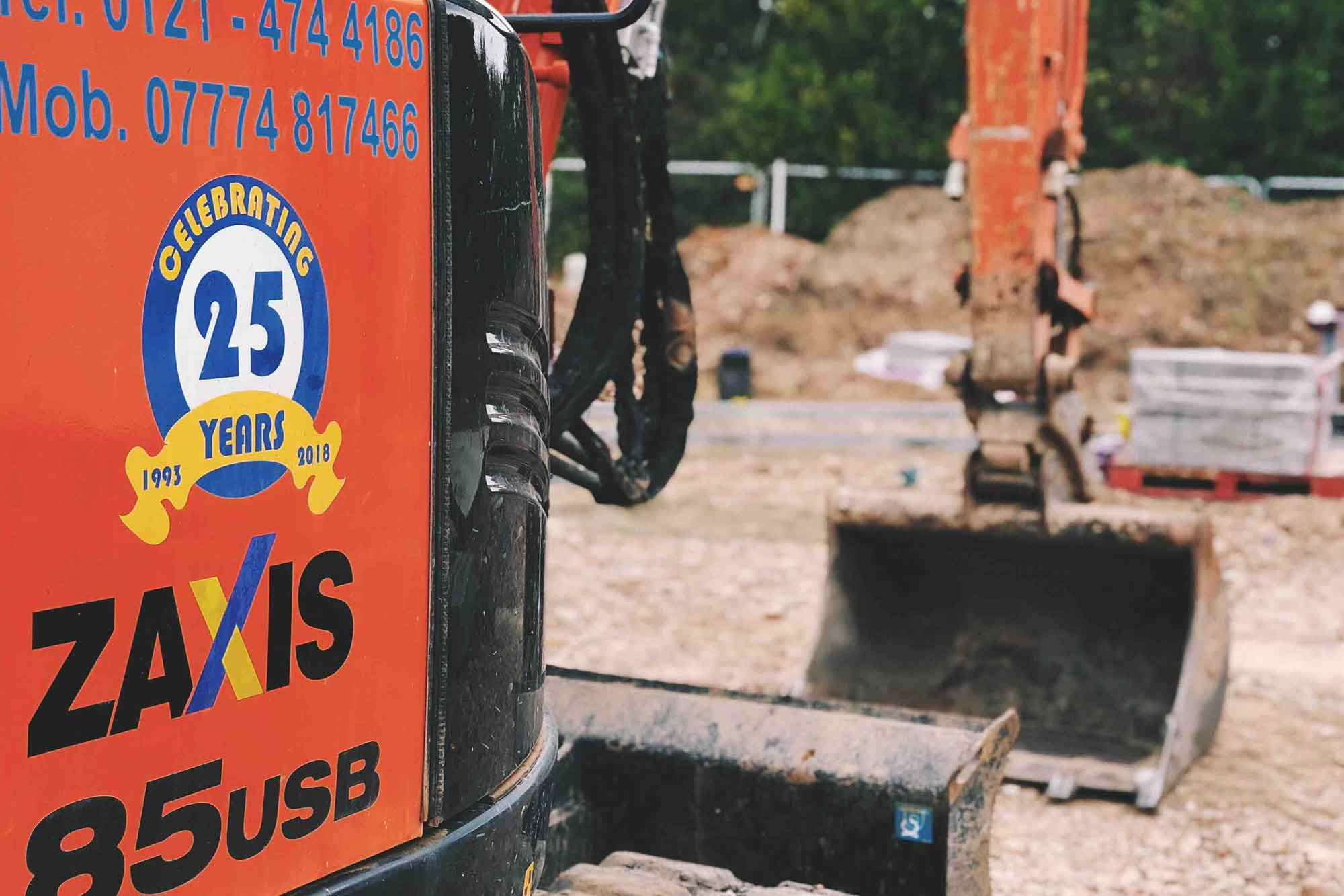 Homepage - J A Burke Construction Limited -Midlands based ground works, civils and RC frame company.