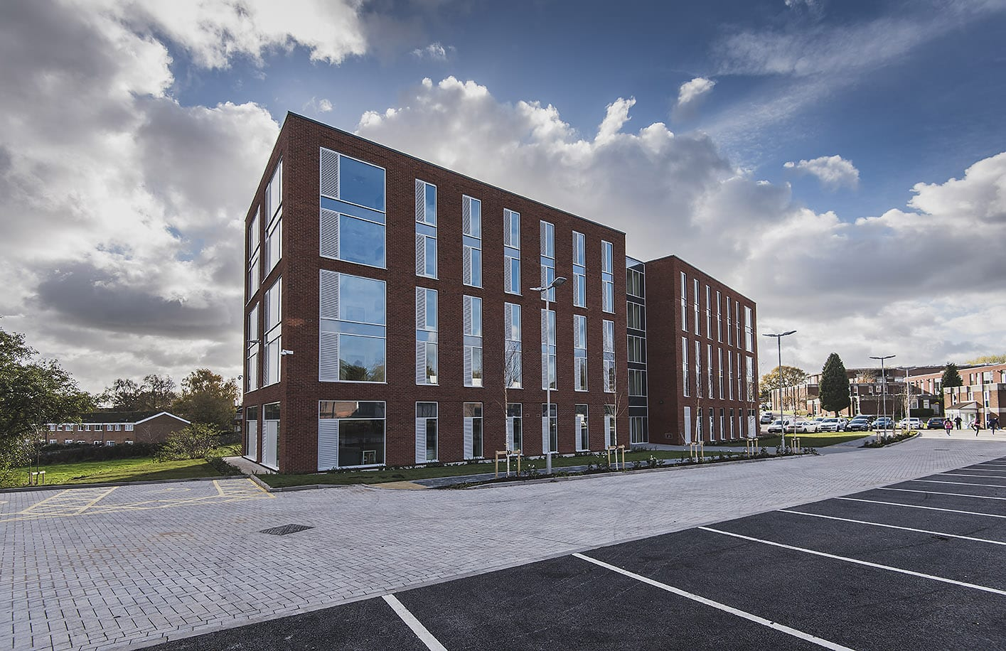 Newman University -New Accommodation - J A Burke Construction Limited - Midlands based ground works, civils and RC frame company.