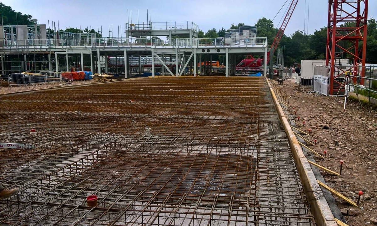 Vita - J A Burke Construction Limited - Midlands based ground works, civils and RC frame company.