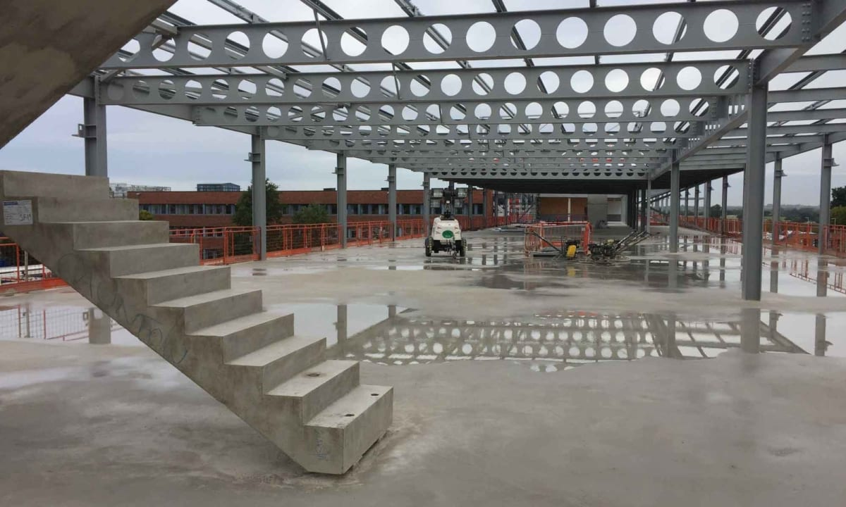 Atherstone - J A Burke Construction Limited - Midlands based ground works, civils and RC frame company.