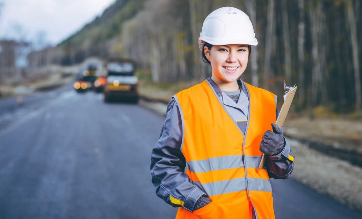 Women in construction - J A Burke Construction Limited - Midlands based ground works, civils and RC frame company.